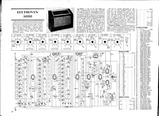 Beethoven A1188 schematic circuit diagram download