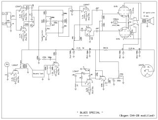 Bogen Challenger 20 schematic circuit diagram download