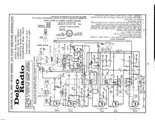 [CSDW_4250]   Schematics, Service manual or circuit diagram<br>for Delco Schematic £1.80  ($2.30, €2.0) | Delco Radio Schematics |  | thecodemachine.co.uk