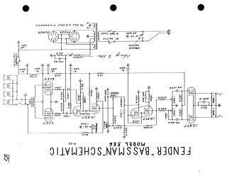 Fender schematics