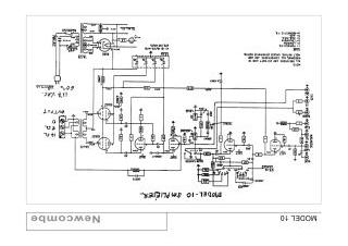 Newcombe 10 schematic circuit diagram download