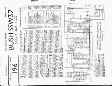 Bush SSW37 schematic circuit diagram download