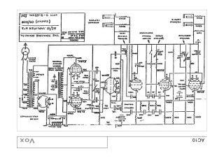 Univox schematics on